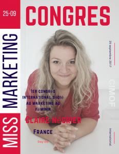 Claire Négrier - Miss Comm' - Pour Miss Marketinb